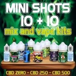 Cannabis Mini Shots 10+10ml...